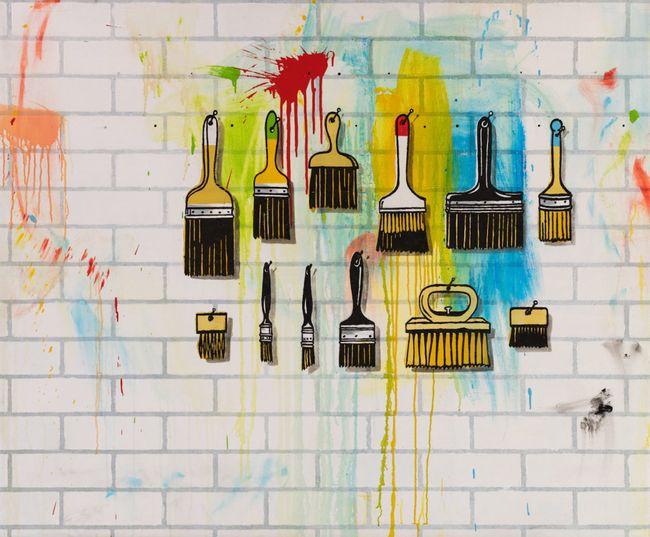 White Wall by Ian Scott contemporary artwork