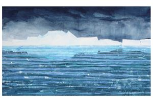 Davis Strait by Andrew Lansley contemporary artwork