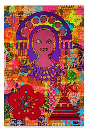 Taipei Dangai 2 by Ryan McGinness contemporary artwork
