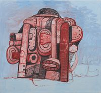 Back View II by Philip Guston contemporary artwork painting