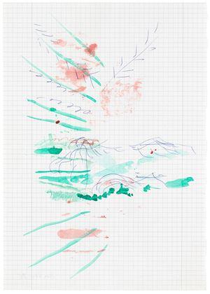 Untitled by Michael Krebber contemporary artwork