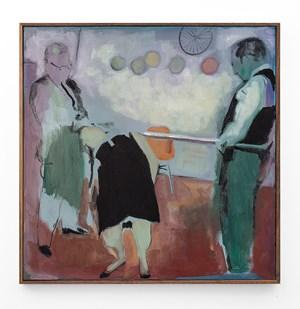 Trio (Bending over Backwards) by Kate Gottgens contemporary artwork