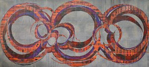Fissuring (裂變) by Qiu Deshu contemporary artwork