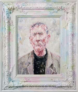 Portrait–Male by Liu Wei contemporary artwork