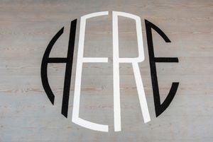 HerE by Jane McAdam Freud contemporary artwork installation