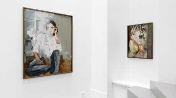 Contemporary art exhibition, Alina Frieske, Can you see me better now? at Fabienne Levy, Lausanne