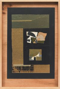 Untitled by Louise Nevelson contemporary artwork mixed media