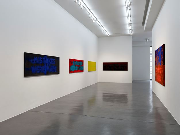 Exhibition view: Mel Bochner, Exasperations, Simon Lee Gallery, London (5 June–13 July 2019). Courtesy the artist and Simon Lee Gallery. Photo: Prudence Cuming.