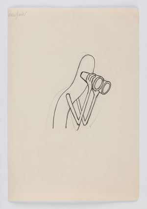 Broom study Viewfinder by Emily Mae Smith contemporary artwork works on paper