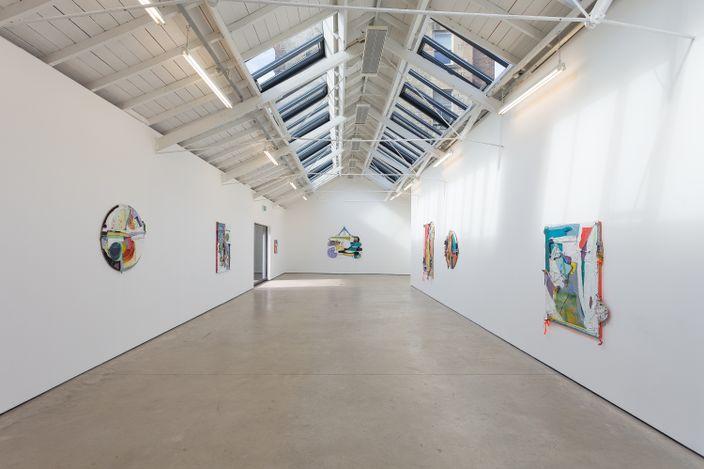 Exhibition view: Rachel Eulena Williams, Silk Cotton Snow, The Modern Institute, OsborneStreet, Glasgow (19 March–24 April 2021).Courtesy the Artist and The Modern Institute/Toby Webster Ltd, Glasgow. Photos: Patrick Jameson.
