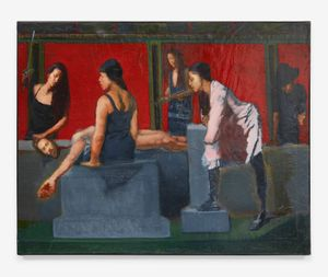 The Beheading (study) by Sylvia Maier contemporary artwork
