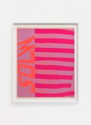 solw by Corita Kent contemporary artwork