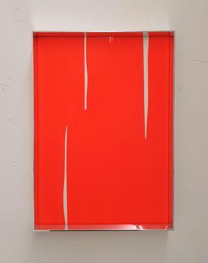 Fluo cut #7 by Regine Schumann contemporary artwork