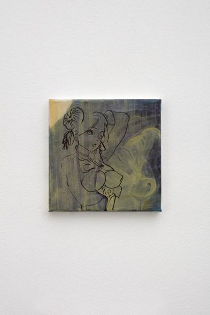 Chun-Li by Katja Seib contemporary artwork