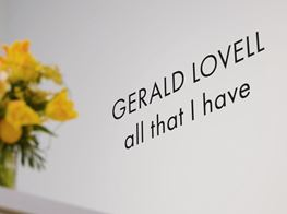 Gerald Lovell · all that I have