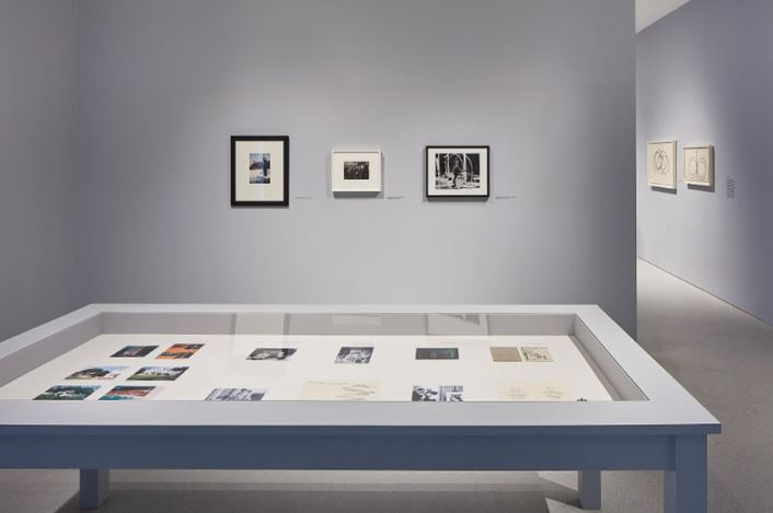 Exhibition view: Man Ray, The Mysteries of Château du Dé, Gagosian, San Francisco (14 January–29 February 2020). Artwork © Man Ray Trust/Artists Rights Society (ARS), New York/ADAGP, Paris, 2020. Courtesy Gagosian. Photo: Johnna Arnold.