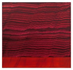 Violet and Red Band 1 by Ricardo Mazal contemporary artwork