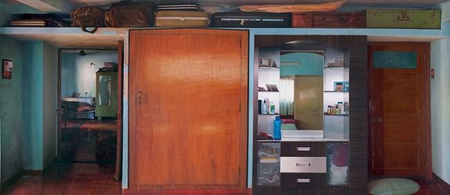 Home (Wall V) by Abir Karmakar contemporary artwork