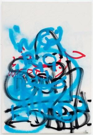 Gebrauchsbild 170 h, Le Plateau, Paris / Patina Painting 170 h, Le Plateau, Paris by Karin Sander contemporary artwork