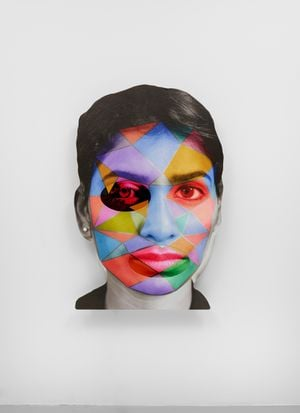 4^#z by Tony Oursler contemporary artwork
