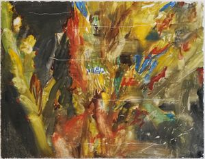 A night in the forest by Chafa Ghaddar contemporary artwork