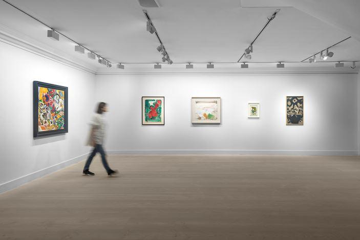 Exhibition view: Group Exhibition, 9thSt. Club, Gazelli Art House, London (17 January–23 February 2020). Courtesy Gazelli Art House.
