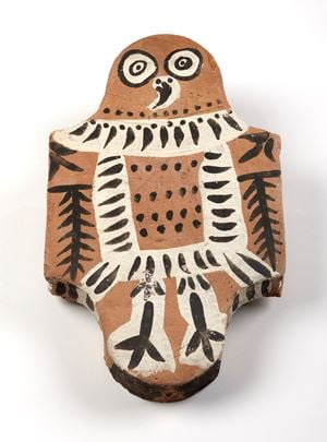 Hibou [Owl] by Pablo Picasso contemporary artwork