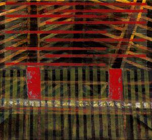 中國建築系列-樑 Chinese Architecture Series-Beams by Wei-Jane Chir contemporary artwork