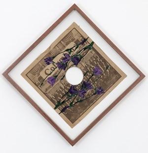 SP Record Embroidery #2 by Satoru Aoyama contemporary artwork