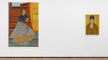 Contemporary art exhibition, Claire Tabouret, Portraits at Almine Rech, London