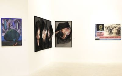Exhibition view: Group exhibition, The New Now (25 August–17 September 2017). Courtesy Gajah Gallery, Singapore.