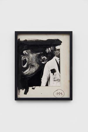 Torture Scientist at Work by Peter Kennard contemporary artwork