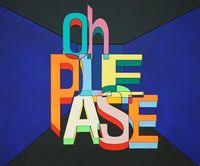 Oh, Please by Dae Chul Lee contemporary artwork painting, sculpture