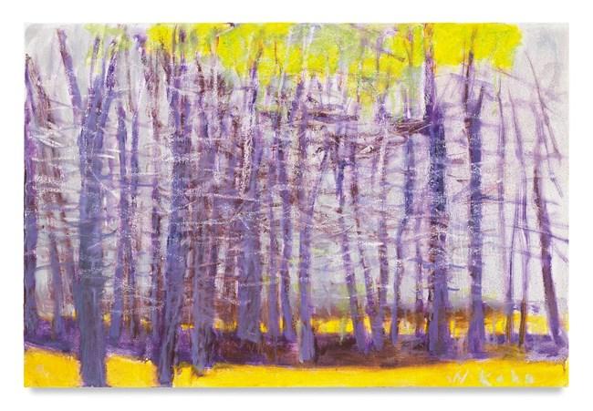 Purple Trees by Wolf Kahn contemporary artwork