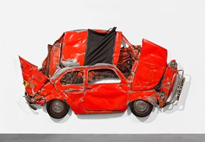 Pressed Flower Red by Ron Arad contemporary artwork