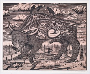 Animal Spirit (pink) by Grayson Perry contemporary artwork