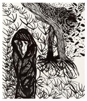 Winter Wind by Matthew Wong contemporary artwork
