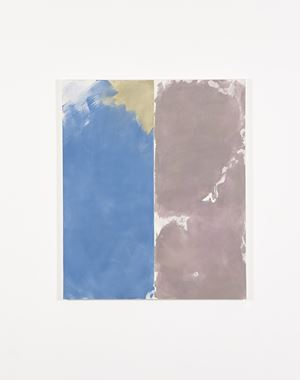Dusty Blue with Dull Lilac by Peter Joseph contemporary artwork