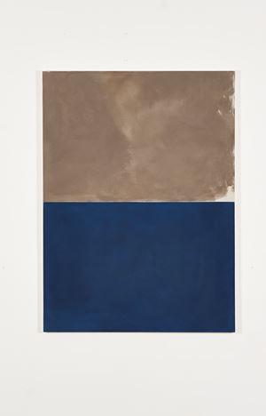 Bronze over Deep Blue by Peter Joseph contemporary artwork