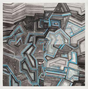 Gem Mountain by Wang Jieyin contemporary artwork
