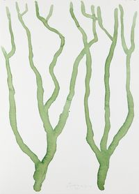Untitled (Tree Study 5) by William Turnbull contemporary artwork painting, works on paper