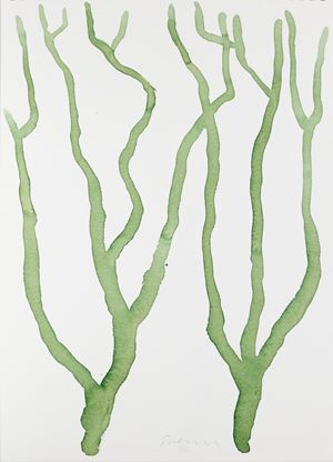 Untitled (Tree Study 5) by William Turnbull contemporary artwork