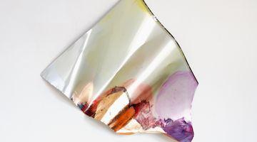 Contemporary art exhibition, Myriam Holme, glanz, kartografiert at Bernhard Knaus Fine Art, Frankfurt, Germany
