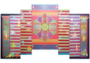 Endangered Garden II by Sulaiman Esa contemporary artwork