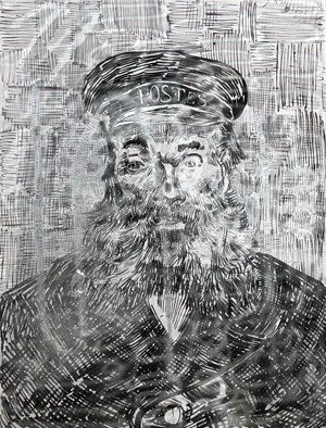 Portrait of Joseph Roulin by Zhao Zhao contemporary artwork