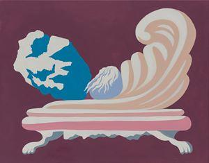 Rock Hard Chair by Michelle Hanlin contemporary artwork
