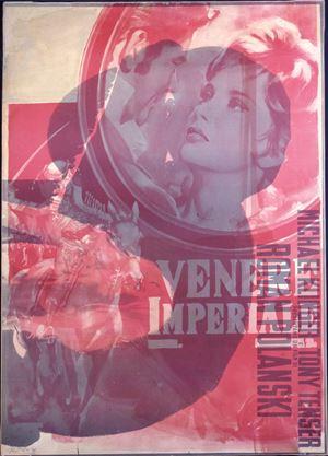 Venere imperiale by Mimmo Rotella contemporary artwork