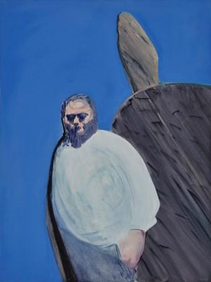The Tough Guy No.1 by Wang Xiaoqu contemporary artwork