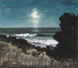 Full moon, Falmouth by Thornton Walker contemporary artwork