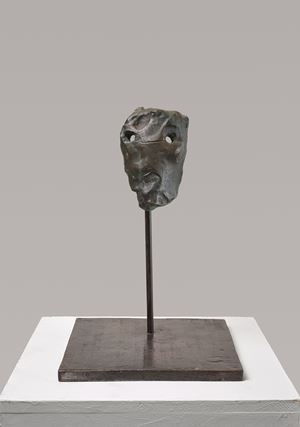 Untitled (Mask) by Günther Förg contemporary artwork